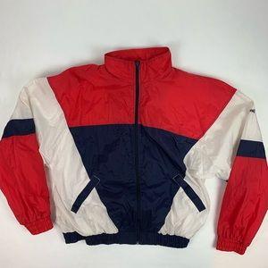 Vintage Spalding Men's Lined Windbreaker Jacket.